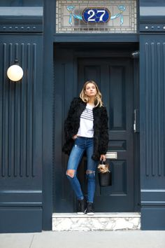 From workout clothes to evening attire, model Jessica hart styles herself in her favorite looks here:
