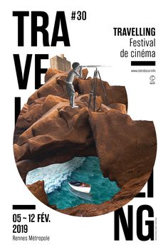 Visual and variations for the Traveling festival 2019 organized by Clair Obscur, Rennes Graphisches Design, Cover Design, Layout Design, Mises En Page Design Graphique, Illustration Design Graphique, Poster Layout, Poster Collage, Poster Poster, Graphic Design Posters