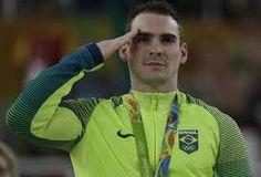 Resultado de imagem para atleta medalhista solo do Brasil