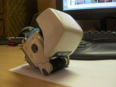 DIY cleaner bot from wall-E