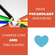 Tools for monitoring and developing student understanding of math vocabulary. Teaching 5th Grade, 8th Grade Math, Fourth Grade, Third Grade, Love Teacher, Teacher Tools, Math Resources, Classroom Resources, Math Centers