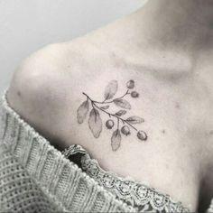 Blueberry tattoo