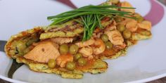 Kuracie soté v karfiólovej placke (bezlepková) - Tinkine recepty