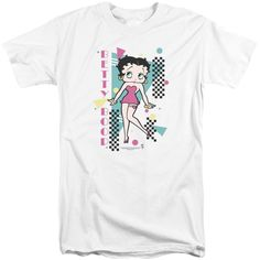 Boop/Booping 80S Style Short Sleeve Adult T-Shirt Tall in