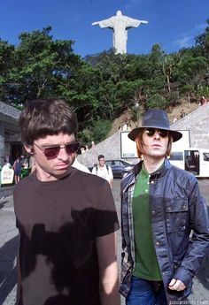 Noel and Liam together again. Liam And Noel, Liam Gallagher, Together Again, Rock Stars, Rock N Roll, Oasis, Nostalgia, Photoshop, Posters