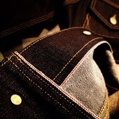 brown selvage