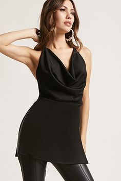 New Look Cowl Neck Body Top Donna