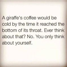 giraffe coffee meme | Posted: October 4th, 2014 by Militant Libertarian