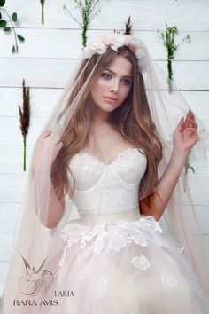 Princess wedding dress LARIA, , wedding dress, blush wedding dress, the princess bride, princess gown, pink wedding dress, bridal dress by RaraAvisAngeEtoiles on Etsy https://www.etsy.com/listing/249221590/princess-wedding-dress-laria-wedding