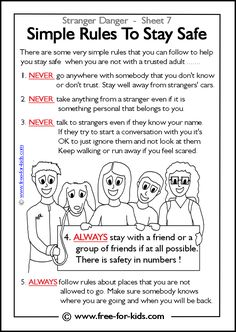 Worksheets Seeking Safety Worksheets playground and recess safety rules posters teaching classroom to stay safe stranger worksheets