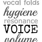 This is a black-and-white version of speech therapy subway art for voice. It can be printed out onto card stock or uploaded to a photo processing c...