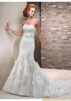 Maggie Sottero Designer wedding dresses and bridal gowns Size 12 Wedding Dress, Fit And Flare Wedding Dress, Lace Mermaid Wedding Dress, Tulle Wedding, Bridal Wedding Dresses, Modest Wedding, Church Wedding, Maggie Sottero Wedding Dresses, Dress Vestidos