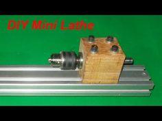 DIY Mini Lathe Tailstock Wood Metal Drill CNC Spindle Machine Free Energy Generator Homemade - YouTube