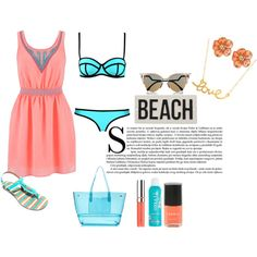 Ready for the beach!   REF: Glamouricons1.wordpress.com