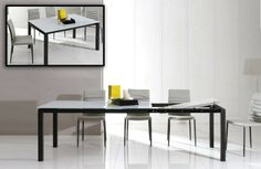 Stylish Design Furniture - Modrest 2683XT Modern Extendable Glass Dining Table, $824.00 (http://www.stylishdesignfurniture.com/products/modrest-2683xt-modern-extendable-glass-dining-table.html)
