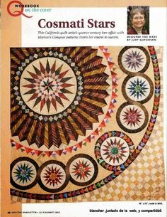Mariners Compass Quilts New Directions Judy Mathieson Geometric Quilt Patterns Off Center Stars Oval Star Compasses Template Experienced Circle Quilt Patterns, Circle Quilts, Star Quilts, Quilt Blocks, Quilting Projects, Quilting Designs, Houston Quilt Show, Mariners Compass, Medallion Quilt