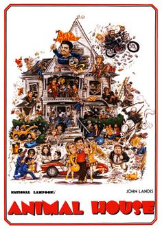 Animal House (1978) -- had to watch this 3 times to catch all the lines.