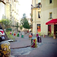 Only two nights in Montpellier, but so much fun and such a small, modern French city.