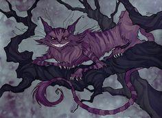 Cheshire Cat by IrenHorrors.deviantart.com on @DeviantArt