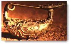 Joyeria de Oro Etrusca - pendiente de oro