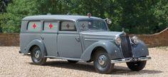 Ambulanz mit Stern: 1952 Mercedes-Benz 170 S-V Krankenwagen