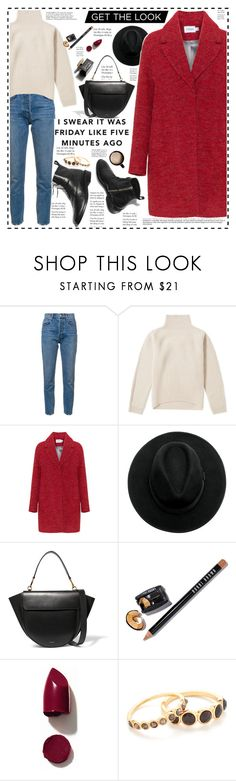 """""""Senza titolo #2279"""" by aanyaa ❤ liked on Polyvore featuring 10 Crosby Derek Lam, Acne Studios, Wandler, Bobbi Brown Cosmetics, D&G, NARS Cosmetics and Gorjana"""