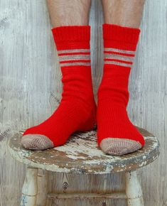 Whit's Knits:  Men's Socks for Giving Away by the purl bee. (For the husband!)