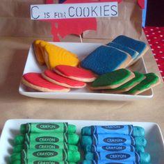 Preschool Graduation Party Decorations: ABC's