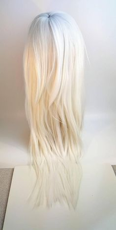 2020 Fashion Blonde Wigs For White Women Affordable Blonde Lace Front - Wcwigs Purple Highlights Blonde Hair, Ginger Blonde Hair, Dark Brunette Hair, Red Highlights, Blonde Hair Spray, Blonde Wig, Ash Blonde, Blonde Ombre, Ombre Hair
