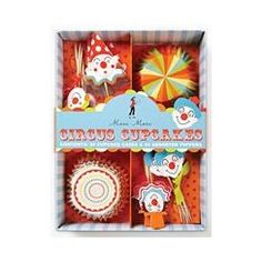 My Little Party Blog: Fiesta Erase una vez el Circo! My Little Party Cupcakes