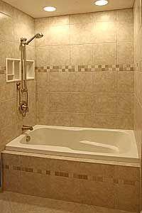 three wall surround bathtub tile - Google Search