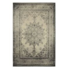 Alcazar Rug from Z Gallerie ($399 for 5'3 x 7'6) also at Kohls? Bed Bath and Beyond $299 5'3 x 7'6