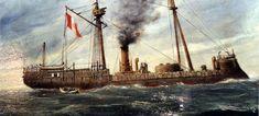 corbeta esmeralda Sailing Ships, Boat, Bolivia, Chile, Monitor, War Of The Pacific, Impressionism, Battleship, Desserts