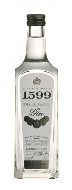 Oliver Cromwell 1599 Premium Gin (?)