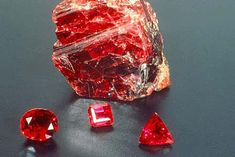 Ruby aka corundum: my favorite colored stone.