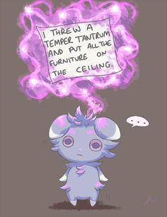 Some people think espurr is scary but I think he's cute like re pin or comment if you think so too