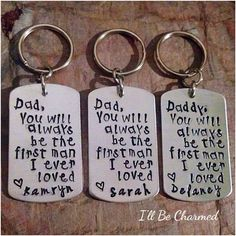 Dad you will always be the first man I ever loved by ILLBECHARMED, $20.00