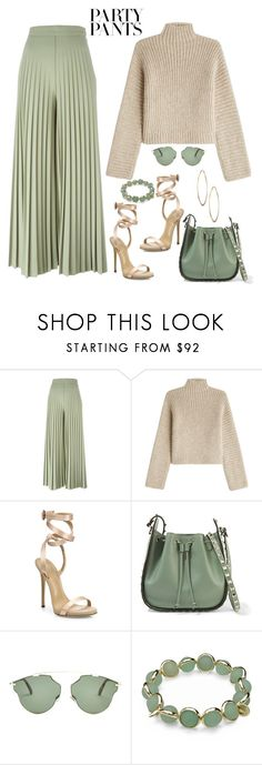 """#PolyPresents: Fancy Pants"" by aharcaki on Polyvore featuring Givenchy, Rosetta Getty, Giuseppe Zanotti, Valentino, Christian Dior, Maggy London, Lydell NYC, contestentry and polyPresents"