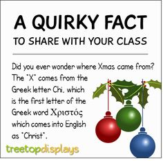 A quirky fact about Christmas to share with your class - from Treetop Displays. Visit our TpT store for printable resources by clicking on the provided links. Designed by teachers for Pre-Kindergarten to Grade. Fun Facts For Kids, Fun Facts About Animals, Animal Facts, Classroom Fun, Classroom Resources, Teaching Quotes, Teaching Kids, Funny Facts, Weird Facts