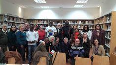 """En el club de lectura de la biblioteca Cristóbal Cuevas tuvimos la tertulia sobre el libro """"Medio sol amarillo"""", de Chimamanda Ngozi Adichie. Y fue un honor y un placer contar con la participación de Fidel y de sus compañeros de la ASOCIACIÓN INDÍGENA DEL PUEBLO DE BIAFRA , que nos aportaron una contextualización muy valiosa y actualizada del escenario que describe la novela. (IPOBMALAGA BIAFRANS)"""