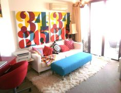 """Caroline's """"Pop Art"""" Room 