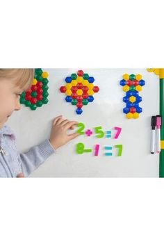 Best Magnetic Tools for the Classroom - Blog Best Magnetic Tools for the Classroom Foam Letters, Magnetic Letters, Letter Patterns, Pattern Blocks, Magnetic White Board, Teaching Aids, Letter Set, Writing Activities, New Words