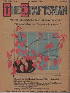 #ad The Craftsman Gustav Stickley Mission Arts & Crafts October 1916 Very Nice http://rover.ebay.com/rover/1/711-53200-19255-0/1?ff3=2&toolid=10039&campid=5337950191&item=372259343772&vectorid=229466&lgeo=1