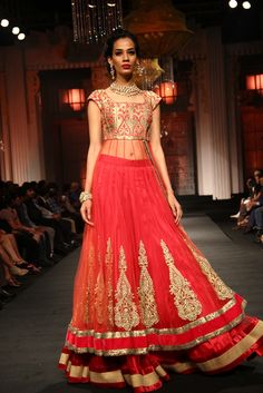 Lehnga is really pretty!  Aamby Valley Bridal Fashion Week 2012 ~ JYOTSNA TIWARI - Fashion Blog - For All Things Beautiful - The Purple Window