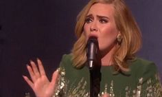 Adele Slays In Her First Live Performance Of 'Hello'