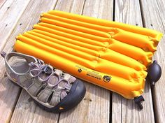 Klymit Air Beam Pack Frame -- doubles as a great kneeler/seat