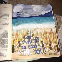 And they heard the sound of the Lord God walking in the garden in the cool of the day. Genesis 3:8 #illustratedfaith #biblejournaling by kdwebb22