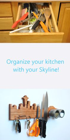 Put your knives & tools somewhere you know! Find your Skyline now!