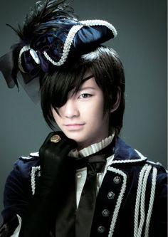 Taketo Tanaka as Ciel Phantomhive