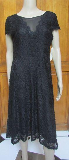 Sangria Petite Black Lace Sheath Cap Sleeve Dress Sz10 P NWT #Sangria #Sheath #Formal